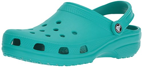 Crocs Unisex-Erwachsene Classic Clogs, Blau (Tropical Teal), 38/39 EU Womans Garten