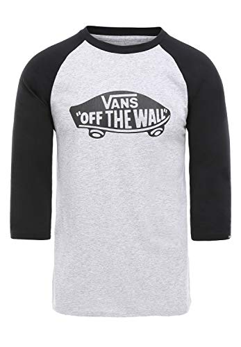 Vans Otw Raglan, T-Shirt Uomo, Grigio (Athletic Heather-Black Atj), Medium