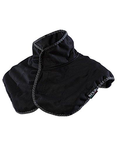 SIX2 Collare Coprispalle Black-Unica Unisex Adulto, One Size