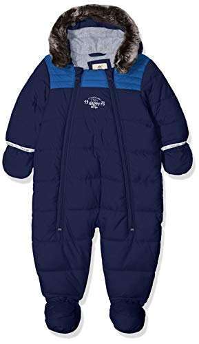 Timberland Baby-Jungen Schneeanzug Combinaison Pilote, Blau (Indigo Blue),  6 Monate