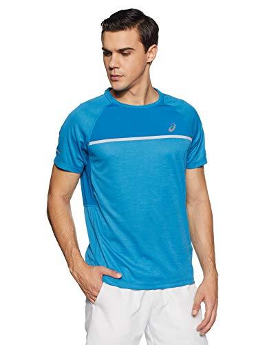 ASICS Men Shortsleeve Top Vestiti Da Corsa T-Shirt