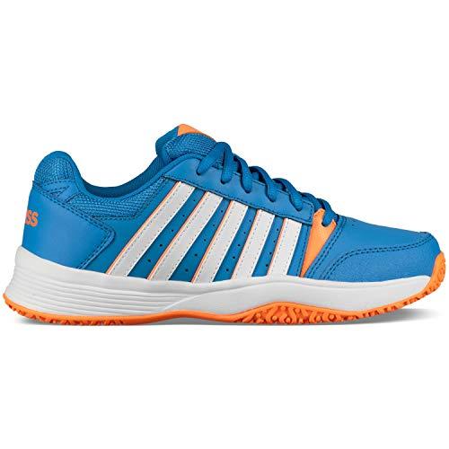 finest selection 13127 7ed74 K-Swiss Performance Court Smash Omni Chaussures de Tennis Mixte Enfant,  Bleu (Brilliant