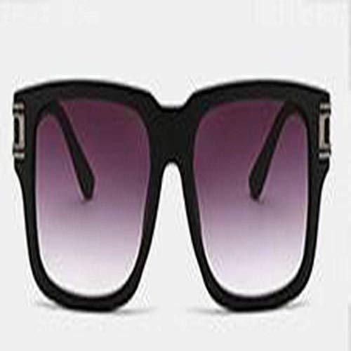 JING Männer und Frauen in Europa und den USA Platz Sonnenbrille Sonnenbrille - Männer, Black Suite Die