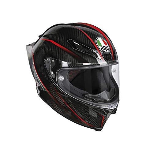 AGV Casco Moto Pista Gp R E2205 Multi PLK, Granpremio Carbon/Italy, MS