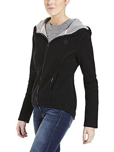 Bench Damen Jacke Jacket Binding Schwarz (Black Beauty Bk11179)