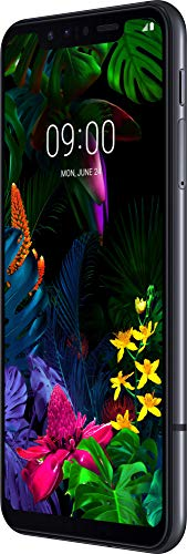 LG G8s Smartphone (15,77 cm (6,21 Zoll) OLED Bildschirm, 128 GB interner Speicher, 6 GB RAM, DTX:X So&, Android 9) Mirror Black