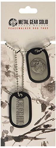 Metal Gear Solid peacewalker Dog Tag (Giochi elettronici)