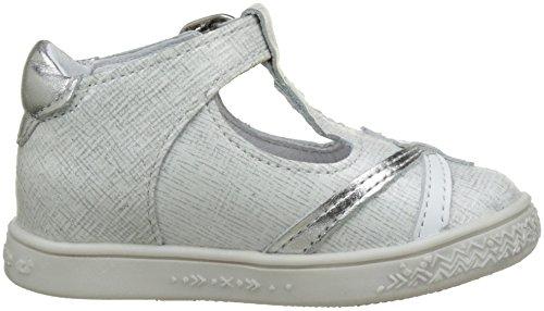 Babybotte Starmiss, Baskets Hautes Fille Blanc (Blanc Paillete)