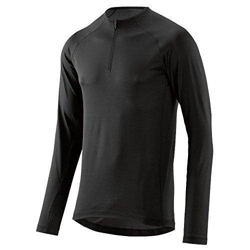 Skins Trooper Midlayer L/S Fleece 1/2 Zip Men Black Größe S 2017 Laufshirt Langarm Trooper Zip