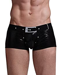 Xuba - Homme Boxer de bain Culotte Maillot de bain Sous-vêtement Boxer Trunk pour Plage/Sport/Natation