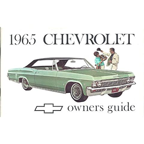 1965 Chevy Owner's Manual Reprint Impala, SS Caprice Bel Air Biscayne