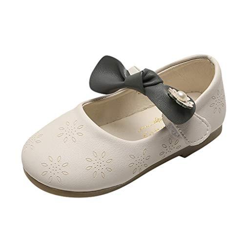 AIni Baby Schuhe,Mode Beiläufiges Kleinkind Kleinkind Kinder Baby Mädchen Bowknot Single Princess Schuhe Sandalen Lauflernschuhe Kleinkinder Schuhe Krabbelschuhe