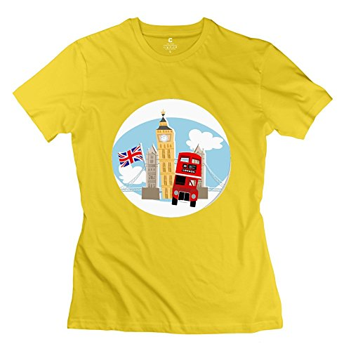onlyprint-da-donna-motivo-bus-londinese-e-big-ben-maglietta-tuta-taglia-us-giallo-xl