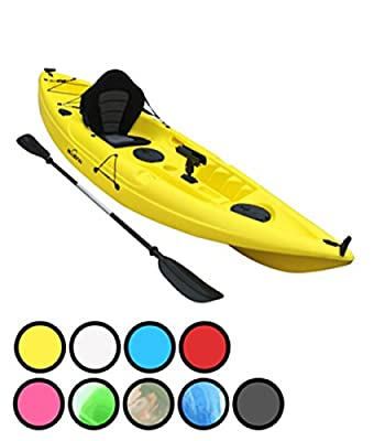 Bluefin Single or Tandem Sit On Top Fishing Kayak. With Rod Holders, Storage Hatches, Padded Seat & Paddle from Bluefin