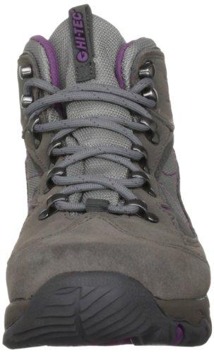 Hi-Tec Merlin Wp, Stivali da Escursionismo Donna, Brown Grigio (Grau (Hot Grey/Mulberry))