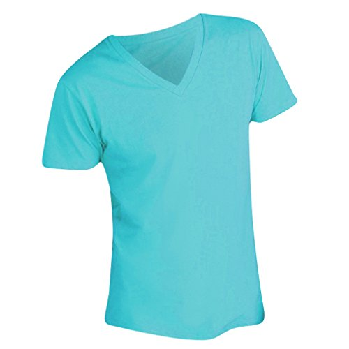SOLS Master Herren T-Shirt, V-Ausschnitt, Kurzarm Mint