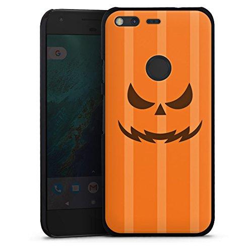 Google Pixel Hülle Case Handyhülle Kürbis Gesicht (Halloween Kürbisse Google)