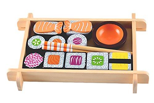 MAGNI-Juego de Sushi de Madera, 2127
