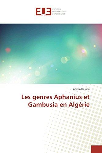 Les genres Aphanius et Gambusia en Algérie