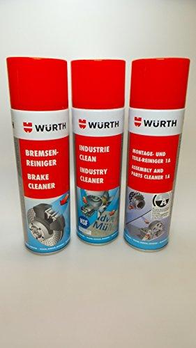 3x Industrie Clean Würth Sabesto 500ml Etikettenentferner