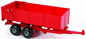 Britains Big Farm 42430 1:16 Scale Tipping Trailer in Red