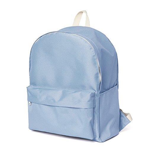 Fashion Schule Rucksack Schultasche Standard Rucksack, sky (Kipling Wheeled Backpack)
