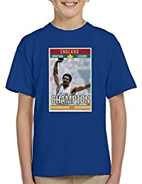 Sporting Legends Poster England Daley Thompson Champion 1984 Olympics Kids T-Shirt