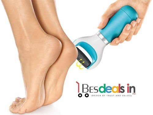 Best Deals - PediEgg Smooth Express Pedi Electronic Foot File Pedicure Tool As Seen On T.V + Free 1 X Replacement Roller Refill