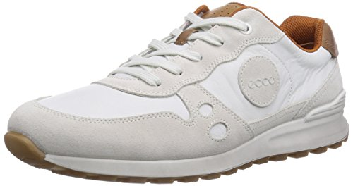 Ecco CS14 Herren Sneakers Weiß (Shadow White/White/WhiteSUE/U.Run.50153)