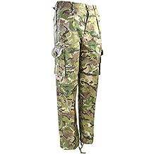 Kombat UK niños de pantalones, diseño de camuflaje, Infantil, color British Terrain Pattern, tamaño 12 - 13 años