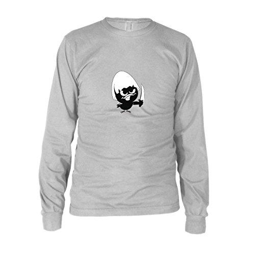 Evil Chick - Herren Langarm T-Shirt, Größe: XXL, Farbe: ()