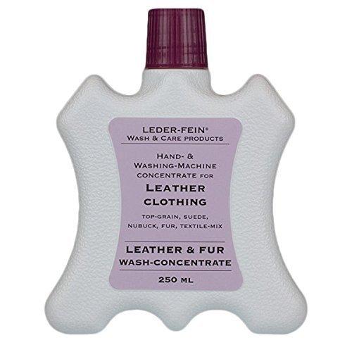 LederFein & pelliccia wash-Detergente concentrato in pelle, 250 ml, motivo: liquido detergente per lavaggio in lavatrice o a mano, asciugatura Giacca e pantaloni, giacche, in pelle di vacchetta rugs-Tappeto in pelle di pecora o
