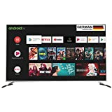 METZ 138 cm (55 inches) 4K Ultra HD Certified Android Smart LED TV M55G2 (Metallic Bezel)