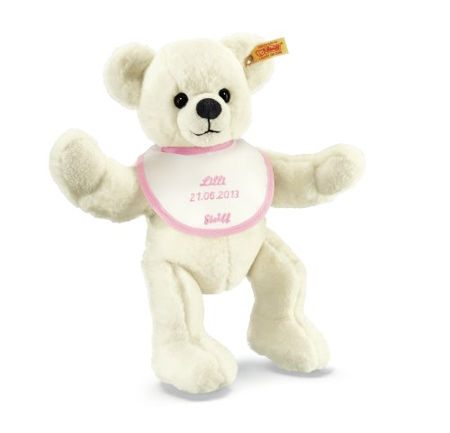 Steiff 018848 Teddybär zur Geburt, 28 cm, creme