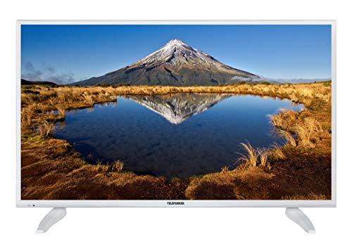 Telefunken XF40E411-W 102 cm (40 Zoll) Fernseher (Full HD, Smart TV, Triple Tuner) weiß