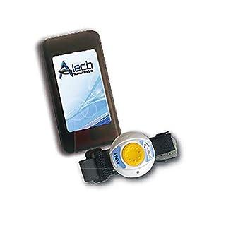 Help-Me V.2: Mobiler Mini Hausnotruf mit Notrufarmband, Pflegerufset mit Funk Armband Sender