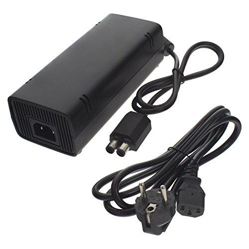 Smartfox Netzteil Ladegerät AC Adapter Netzteil für Microsoft Xbox 360Slim Ersetzt: xb-360l (Xbox 360-ladekabel)