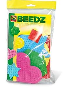 Ses- Paquete de 5 tableros de Clavijas para niños, (00782)