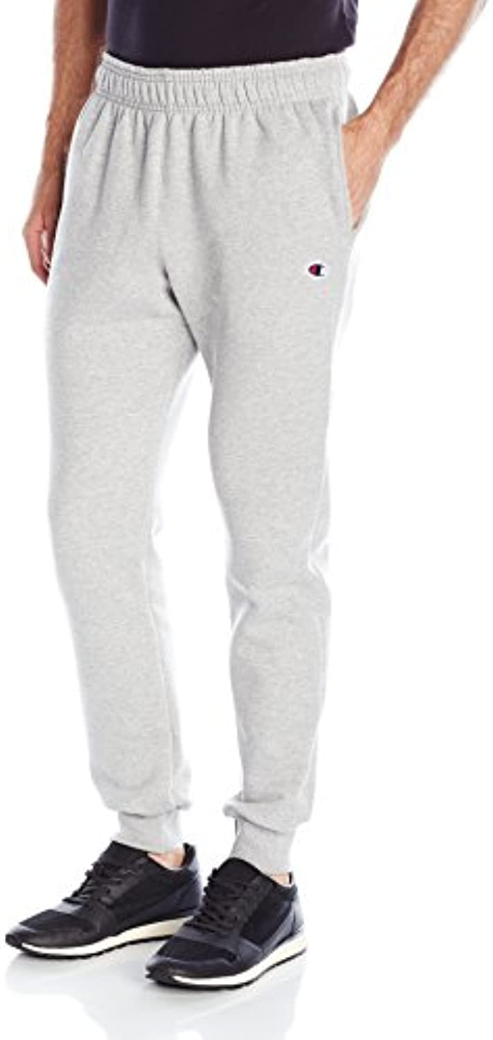 Champion Men's Powerblendreg Retro Fleece Jogger Pants M Grey