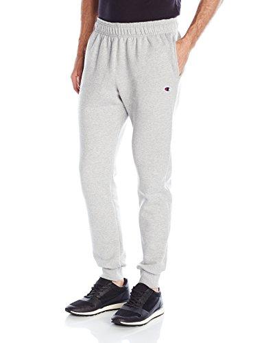 Champion Herren Powerblend Retro Fleece Jogger Pant Unterhose, Oxford Gray, Klein -