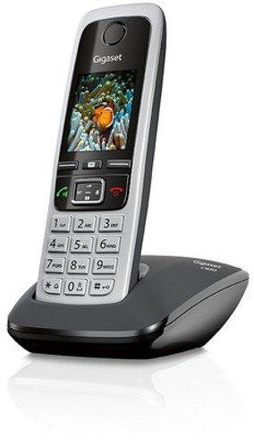 Gigaset C430 Schnurlostelefon (4,6 cm (1,8 Zoll) TFT-Farbdisplay, Dect-Telefon, Freisprechen) schwarz/silber - 3