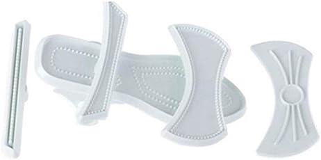 DROVE Lady High Heels Schuh Kunststoff Sandale Fondant Backform Kuchen Formen