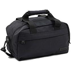 Members - Essential on-board segundo compatible con ryanair equipaje de mano, negro (negro) - sb-0043