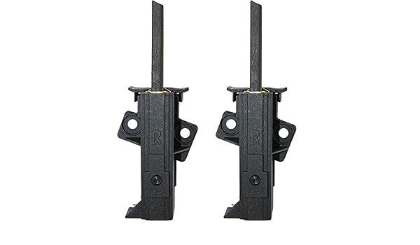 LAVAMAT 64780 5x12,5 mm ohne Halter Kohlebürsten für AEG LAVAMAT 64730