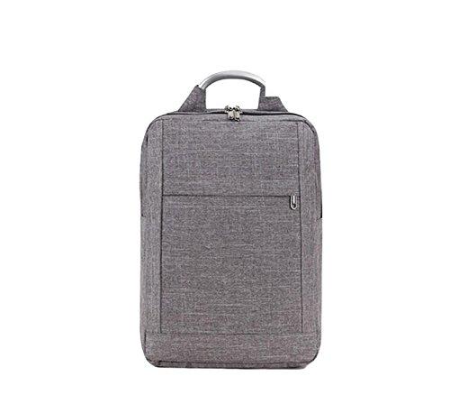 Männer Und Frauen Können Schulter Tasche Laptop Tasche Rucksack Geschäft Große Kapazität Freizeit Reisepaket Grey