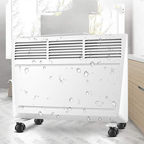 Heizung QFFL energiesparende energiesparende Wandheizung Home Bad Dual-use-Badezimmer Wasserdichte elektrische 2 Farben optional Kühlen und Heizen (Farbe : B)