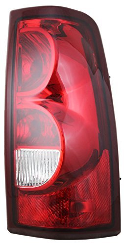 Chevy Pick Up Truck 03 Tail Light - Right Rear Brake Taillamp Lens & Housing by Aftermarket Replacement