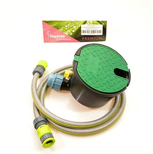 Plug&Rain Wasserhahn Anschluss-Steckdose 32 mm Premium