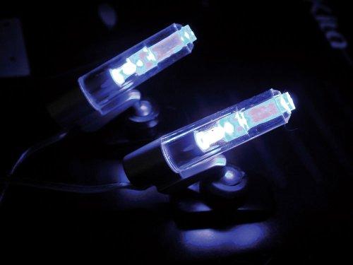 Eufab-17241-LED-Beleuchtung-Innen-blau-12-V-fr-Zigarettenanznder-mit-Schalter-Klebepad