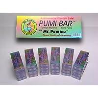 Mr. Pumice Extra Coarse Pumi Bar Purple (24 Pieces Display)